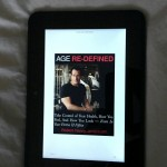 """Age Re-Defined"" on a Kindle Fire HD"